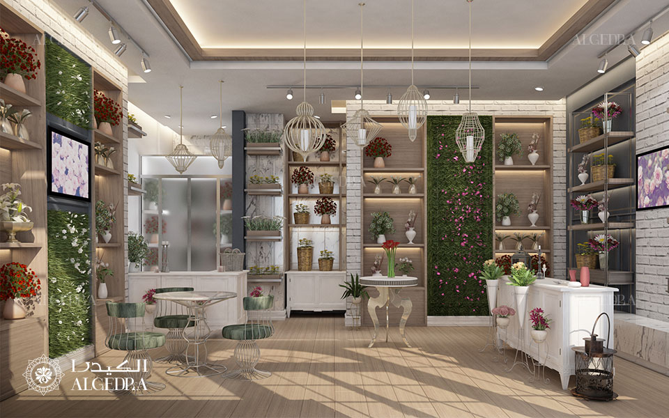 Flower Shops Interior Design