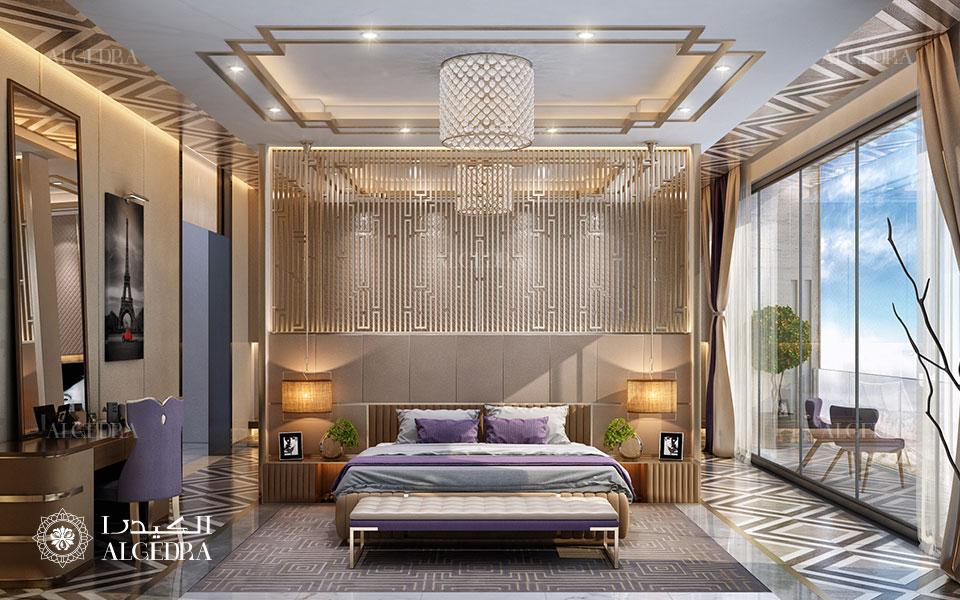 تصميم داخلي غرفة نوم أساسية