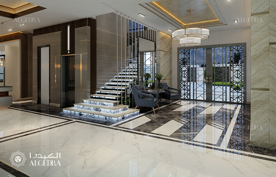 entrance design algedra
