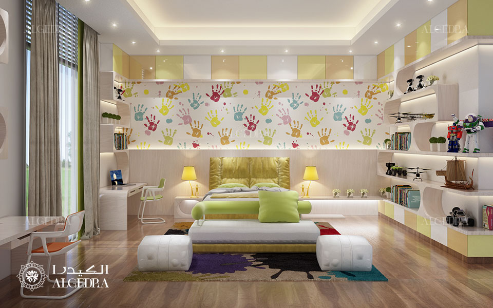 Master bedroom Design in Villa