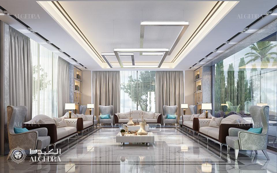 Contemporary Villa Interior