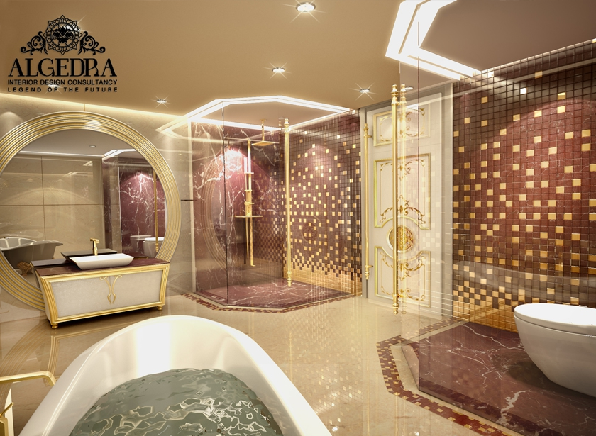 Bathroom interior design modern bathroom designs for Modern home decor dubai