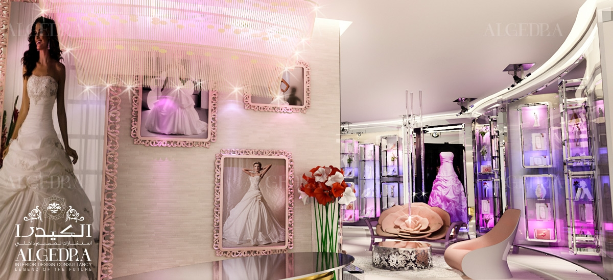bridal shop interior design