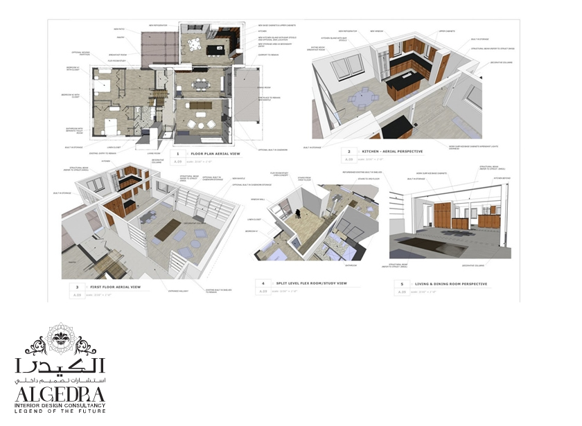 Full Space Planning And Conceptual Designs